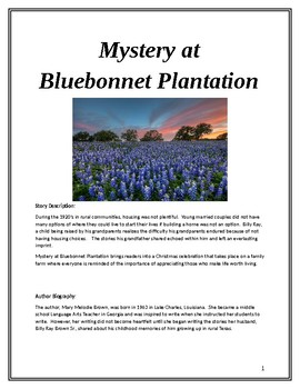 Middle School Reading Comprehension: Mystery at Bluebonnet