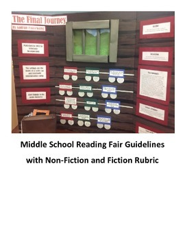 Middle School Reading Fair
