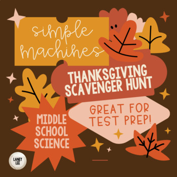 Thanksgiving Scavenger Hunt - Simple Machines