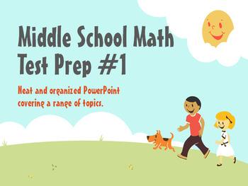 Middle School Test Prep #1