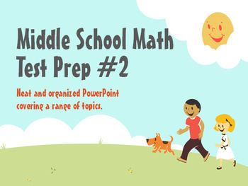 Middle School Test Prep #2
