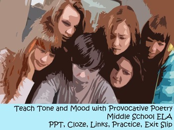 Middle School Poetry - Tone and Mood