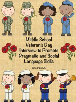 Middle School Veteran's Day Interview to Promote Pragmatic
