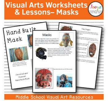"""VISUAL ARTS : Middle School Visual Arts Unit - """"Mask-erade"""""""