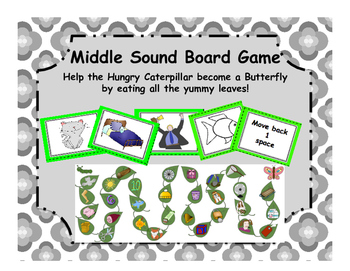 Middle Sound (short vowels) Board Game!