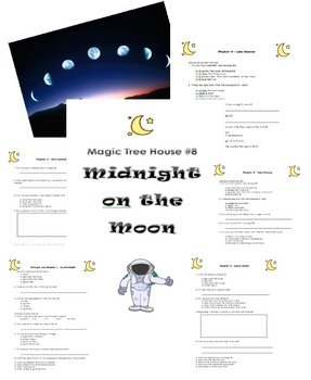 Midnight on the Moon Magic Tree House #8 Comprehension Questions