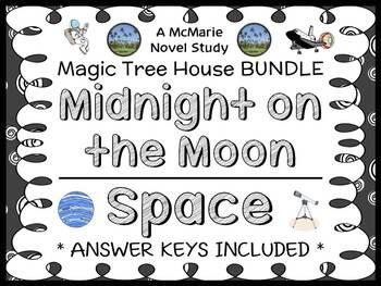 Midnight on the Moon   Space Fact Tracker: Magic Tree Hous
