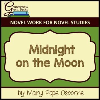 The Magic Tree House Series: Midnight on the Moon: CCSS-Al