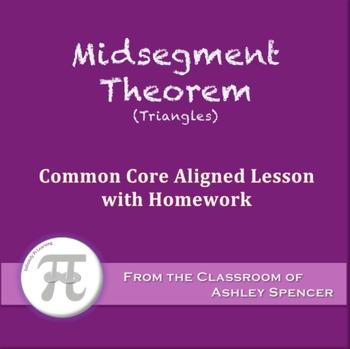 Midsegment Theorem (Lesson with Homework)