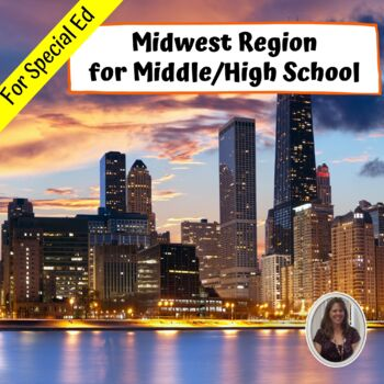 Midwest Region Geography Unit for Special Education