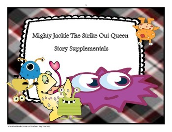 Mighty Jackie the Strike Out Queen by Marissa Moss - Readi