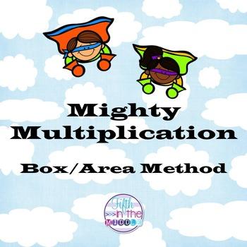 Multiplication - Box/Area Method