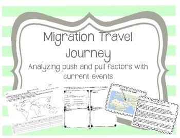 Migration - Push Pull Factors: Migration Travel Journey us