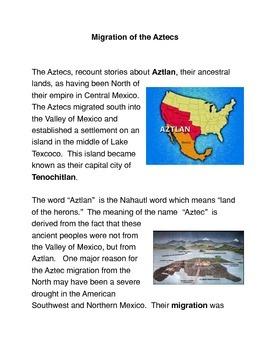 Migration of the Aztecs