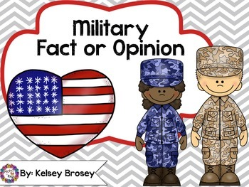 Military Fact or Opinion Activity