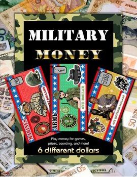 Military Veteran's Day Money Set