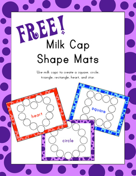 Milk Cap Shape Mats