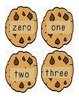 Milk and Cookies Numer/Number Word Matching
