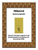 Milkweed R.A.F.T.