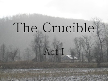 Miller ~ The Crucible Act I Summary Review POWERPOINT