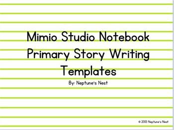 Mimio Primary Story Writing Templates