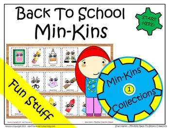 Back To School - Min-Kins Collection - Season 1