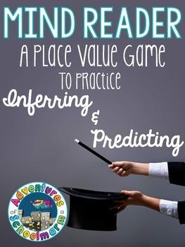 Mind Reader Math Game FREEBIE