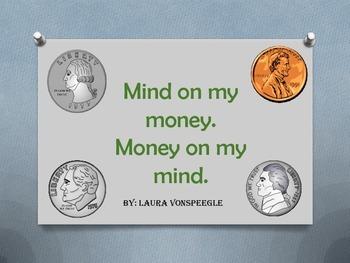 Mind on my money. Money on my mind math centers