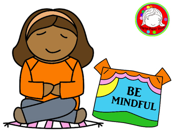 Mindful Kids Clipart (Personal & Commercial Use)