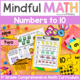 Numbers to 10 First Grade