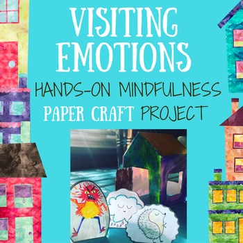 Mindfulness Activity on Feelings: Hands-On Paper Craft, Po