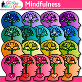 Mindfulness Clip Art {Psychology and Cognition Graphics fo