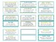 Mindfulness Coping Skills Labels to use with Jenga® Game -