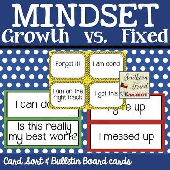 Growth vs. Fixed Mindset