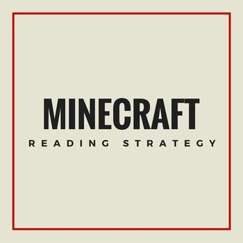 Minecraft Reading Strategy