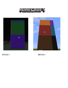 Minecraft 2 digit Multiplication