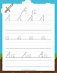 Minecraft D'Nealian Script Handwriting Packet
