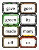 Minecraft Dolch Word Cards: Second