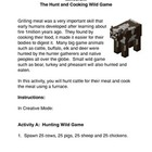 Minecraft: Hunting and Cooking Wild Game
