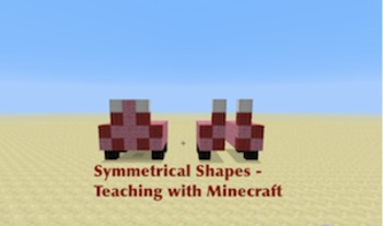 Minecraft Lesson on Symmetry