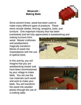 Minecraft:  Making Beds