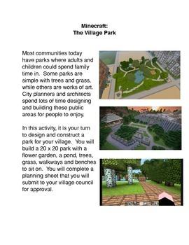Minecraft:  The Village Park