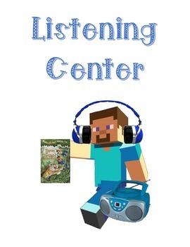Minecraft Theme - Listening Center, Books on CD