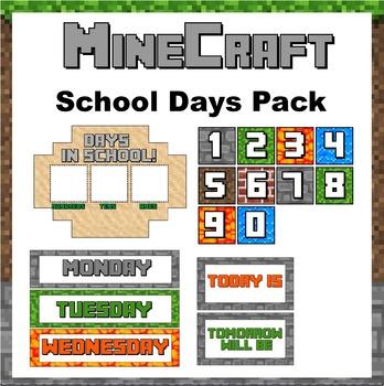 Minecraft Themed Days in School