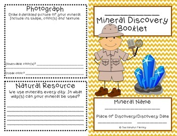 Mineral Discovery Booklet
