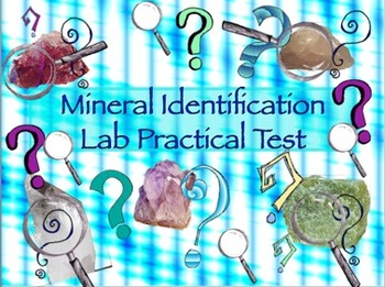 Mineral ID Lab Practical Test
