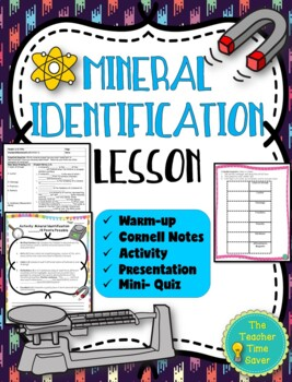 Mineral Identification Lesson (Notes, Activity, and PowerPoint)