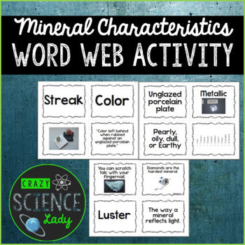 Mineral Word Web Activity