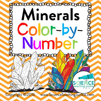 Minerals Color-by-Number