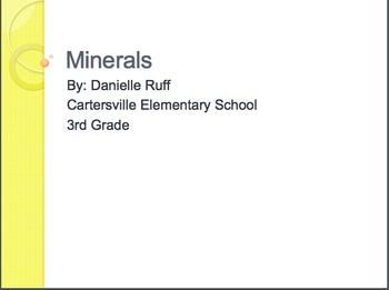 Minerals Packet